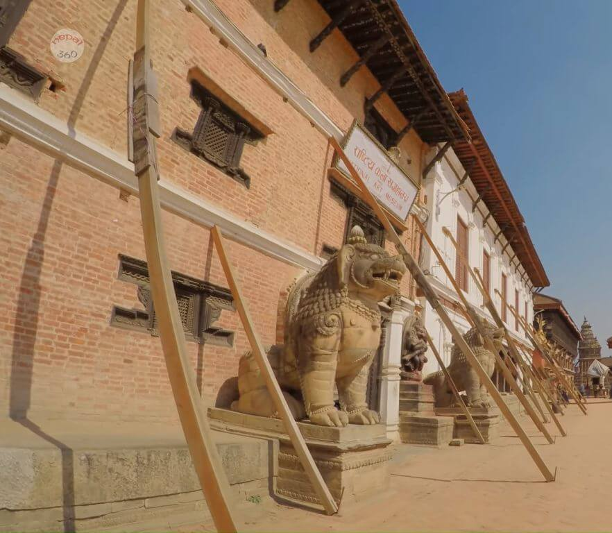 The National Art Museum, Bhaktapur Durbar Square, Nepal