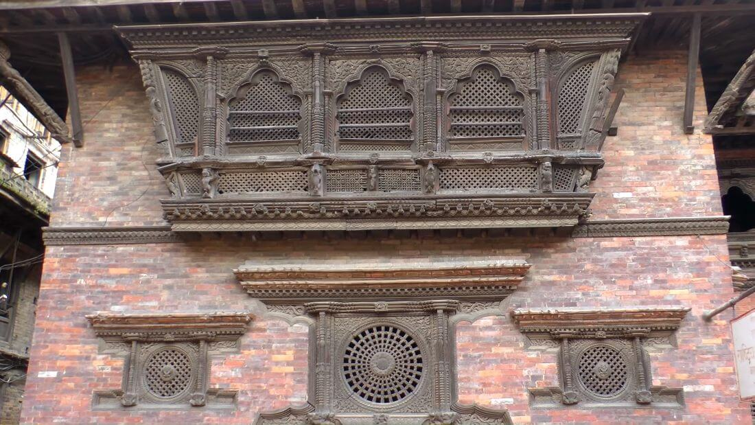 Wooden Window Bhaktapur, Kathmandu Valley, Nepal