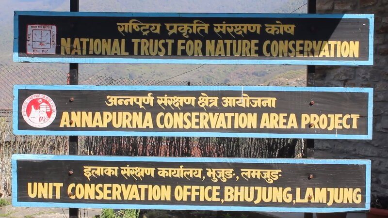 Annapurna Conservation Area of Nepal