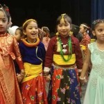 Costumes of Nepal Dresses Nepali Childrens in USA cultural program Image