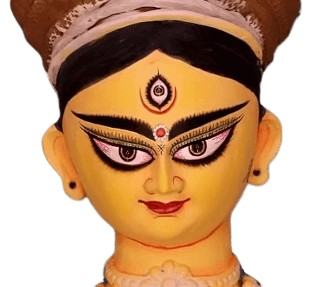 Goddess Durga Mata Eyes Face Pictures