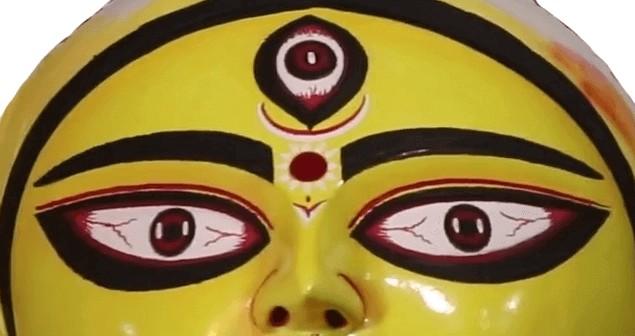 Goddess Durga Maa Eyes Images