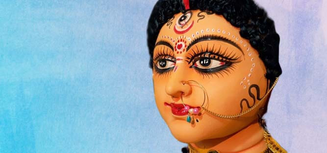 Goddess Durga Mata Eyes Pictures