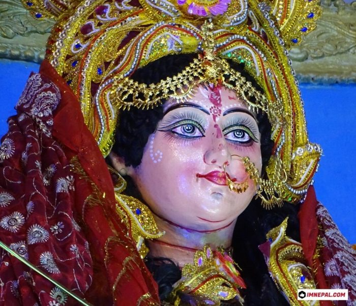 Goddess Durga Mata Face