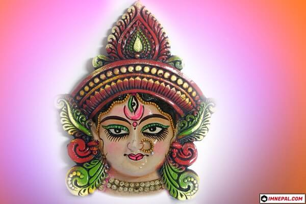 Goddesss Durga Mata Face Images Designs