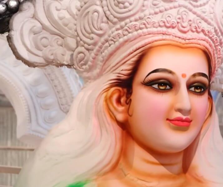 Navratri Goddess Durga Mata Face Eyes Images