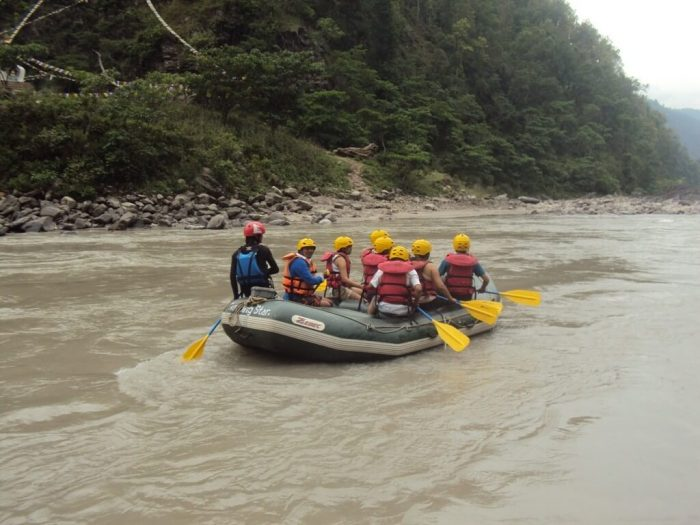 Rafting in Nepal's River Images
