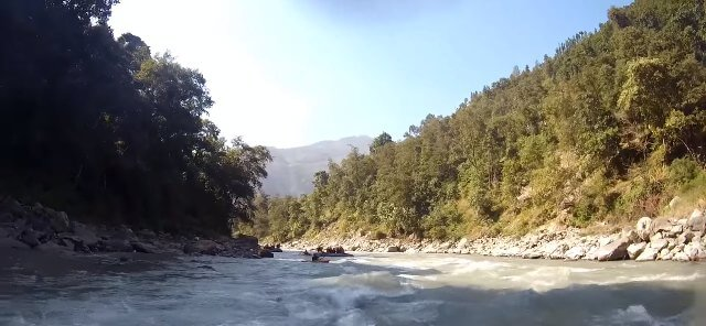 Rafting in Bhotekoshi River, Nepal