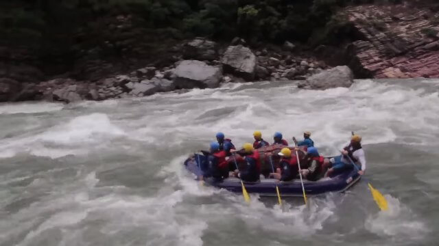 Rafting in The Karnali River Nepal