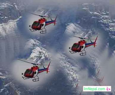 Air Ambulance in Nepal Himalays Picture