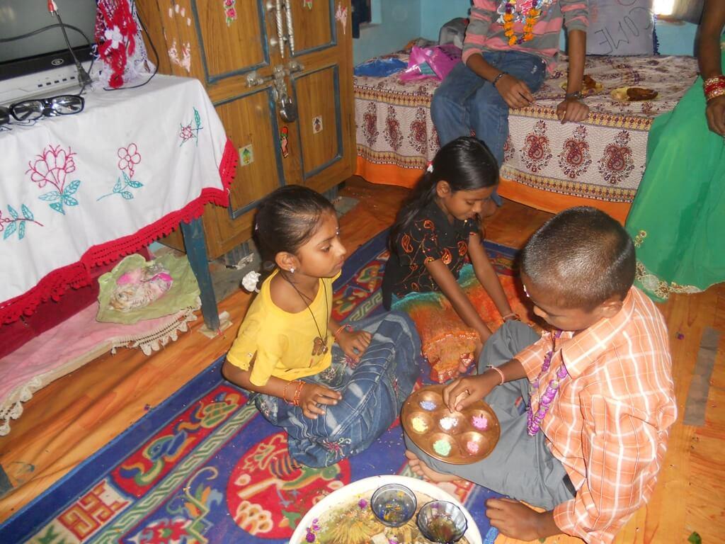 Tihar Bhai Tika Images Nepal