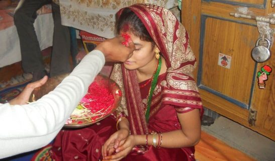 Dashain Tika Photo Vijaya Dashami