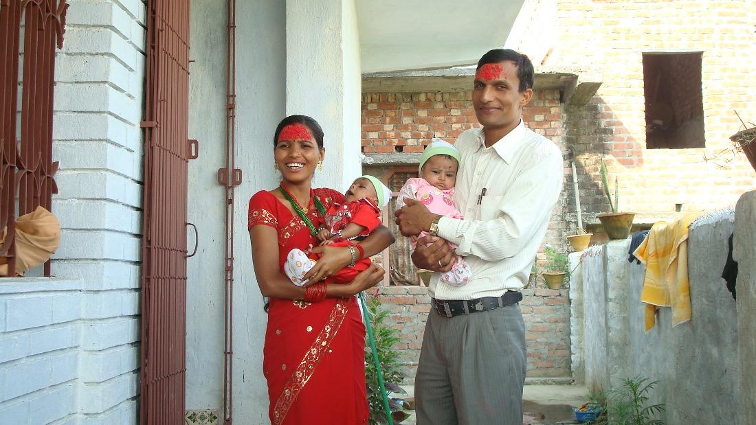 Dashain Tika Vijayadashami Photos family