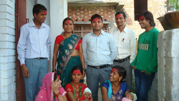 Dashain Vijayadashami Photos Family