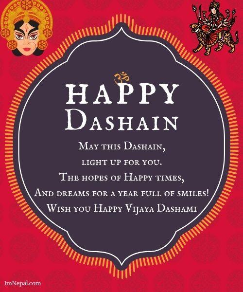Happy Dashain Wishes Image