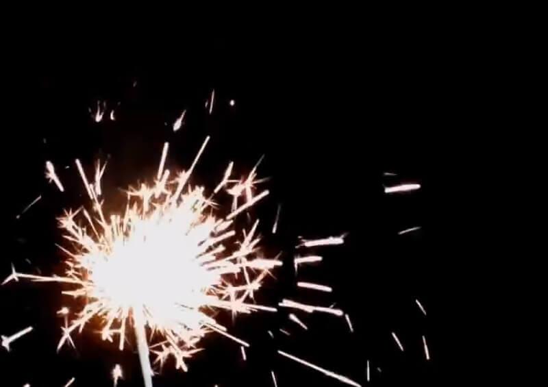 Sparklers Diwali firecrackers
