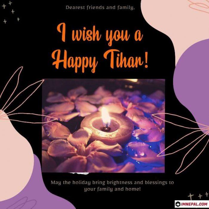 Tihar Greeting Card