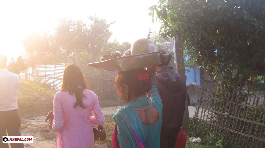 Chhath Puja Activities Pictures