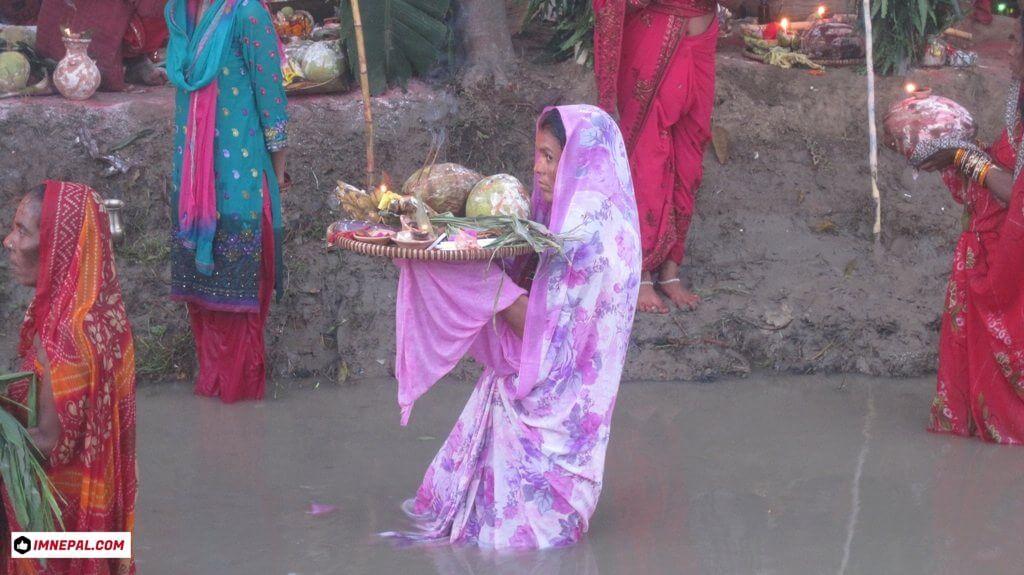 Chhath Puja Image Argh