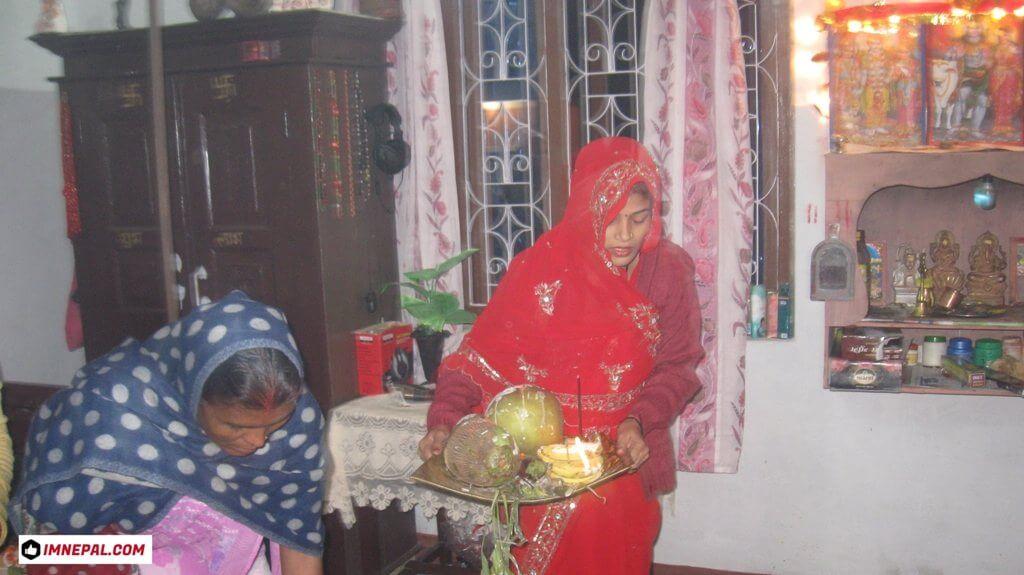 Chhath Puja Ladies Images