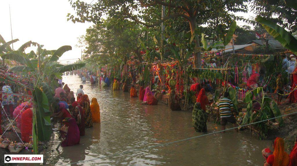 Chhath Puja celebration