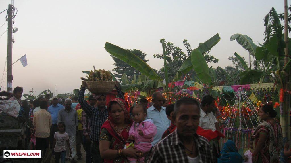 Chhath Puja demotees