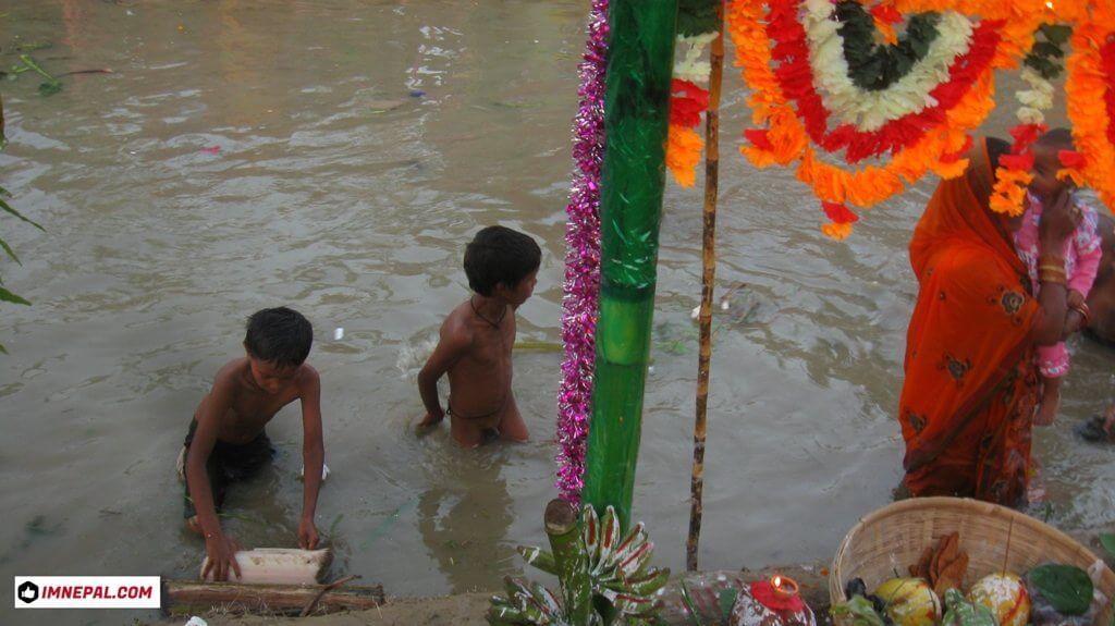 Chhath Puja kids