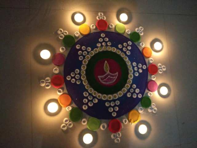 20 Diwali Rangoli Designs Which Are Simple To Make For Beginners On This Deepavali 2019