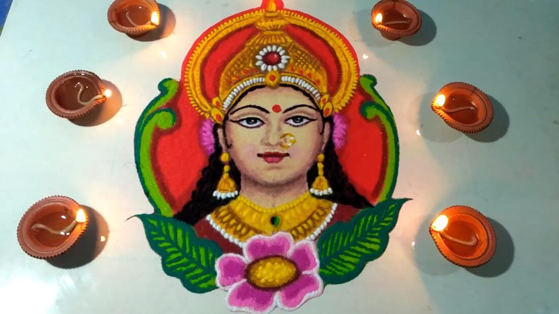 Diwali Rangoli Design Deepavali HD Images Photos Color Pictures
