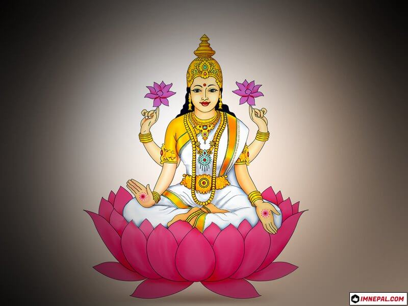 Hindu Goddess Lakshmi Laxmi Mata Images Wallpaper