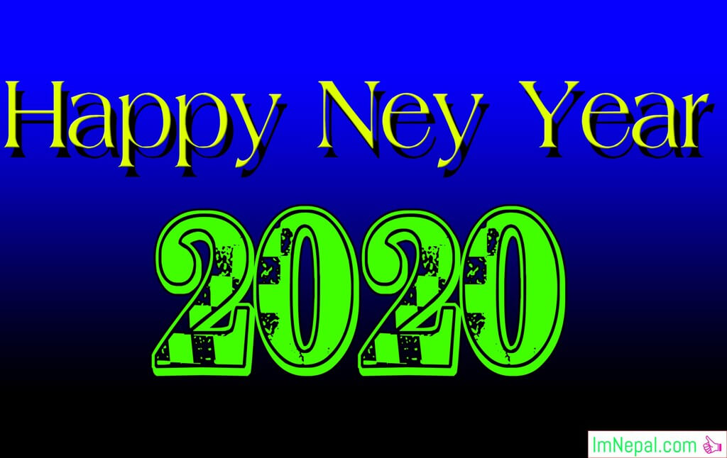 Happy New Year 2077 Images Greetings card