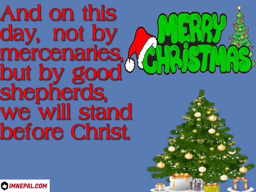 Merry Christmas Greeting Card Picture