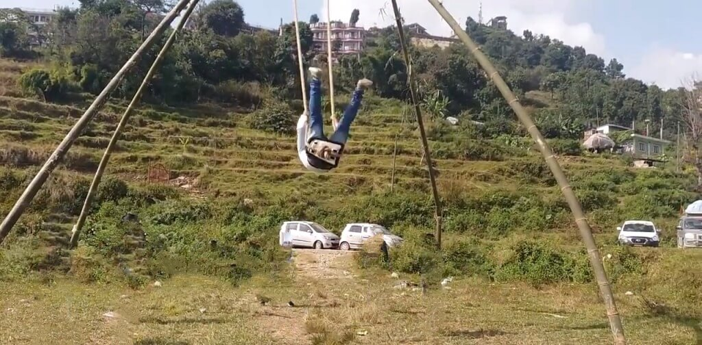 Picture Of Dashain Ping Swing, Nepal
