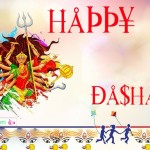 Happy Dashain Vijaya dashami Durga Puja Navratri Festival Nepal Greeting Wishing Cards Image Wallpapers Pictures
