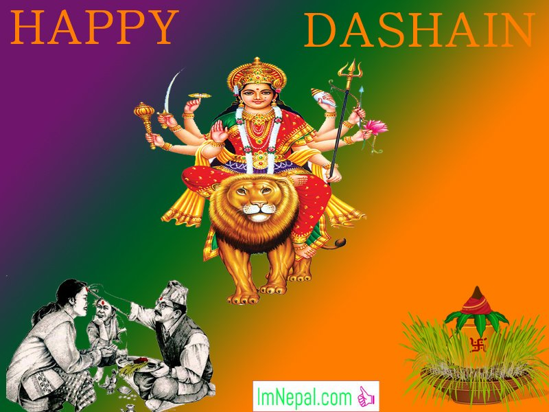 Happy Vijayadashami Bada Dashain Dasain Festival Nepal Greeting Wishing Cards Images Pictures Wishes Messages Quotes Nepali