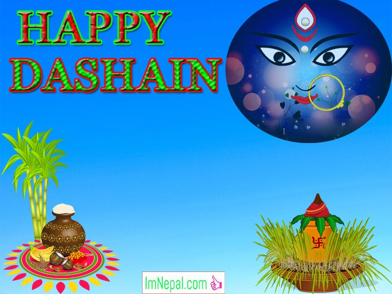 Happy Vijayadashami Dashain Dasain Festival Nepal Greeting Wishing Cards Images Picture Wishes Messages Quotes Nepali