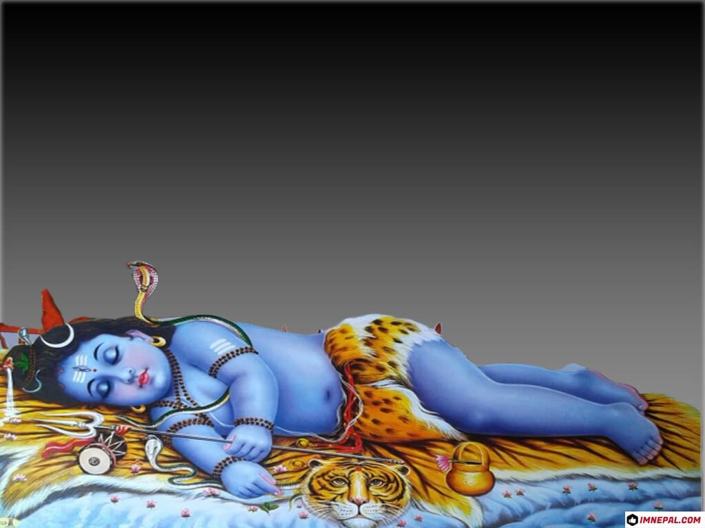 20 Best Images of Lord Child Shiva Sleeping Wallpapers