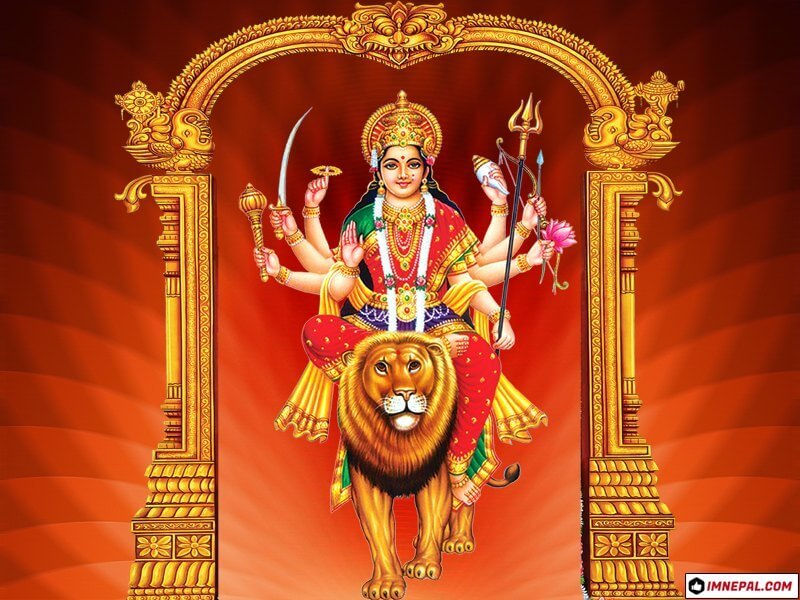 Hindu Goddess Maa Durga Mata Navratri Dussehra Dashain Festival HD Wallpapers Pictures