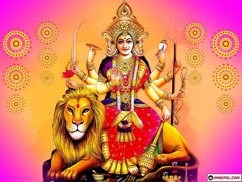 Hindu Goddess Maa Durga Mata Navratri Dussehra Dashain Festival HD Wallpapers Pictures