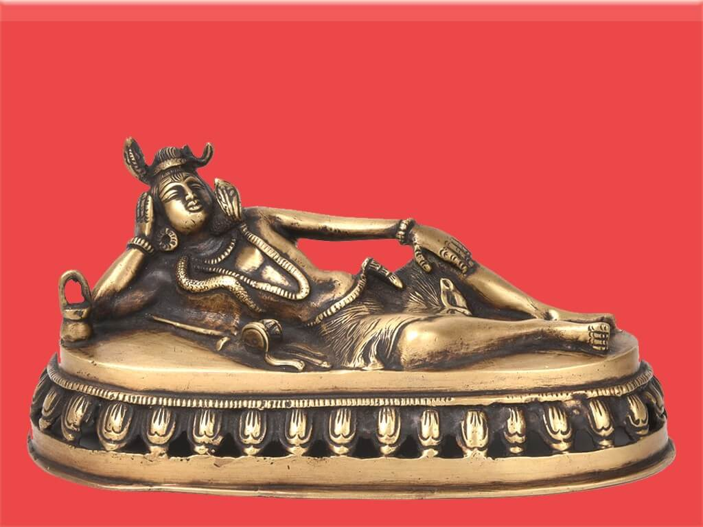 Images Lord Shiva sleeping