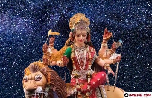 Navratri Goddess Durga Mata Idol Image