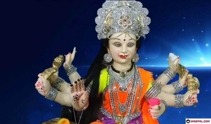 Navratri Goddess Durga Mata Idol Wallpaper