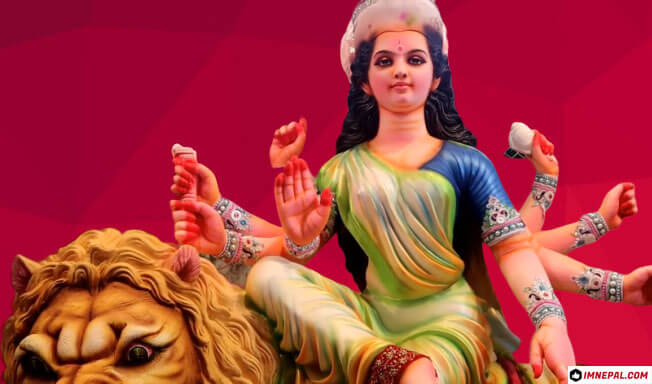 Navratri Goddess Durga Mata Maa Beautiful Image