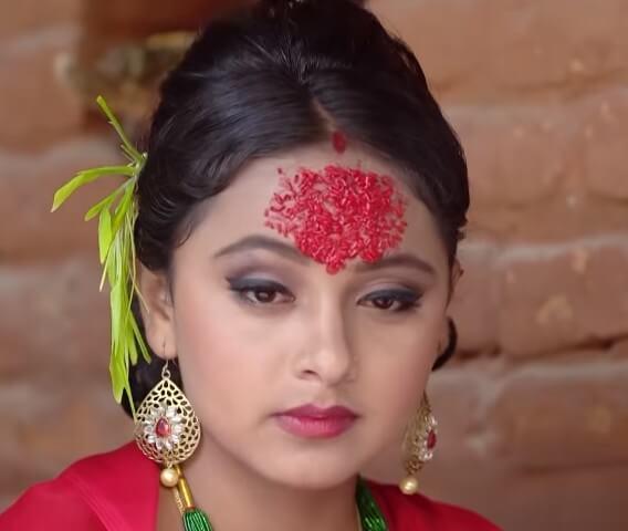 Nepali Dashain Tika Picture Artist