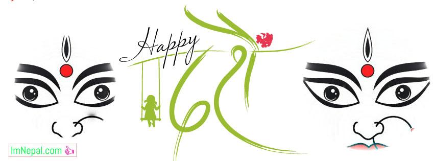 happy dashain greeting cards