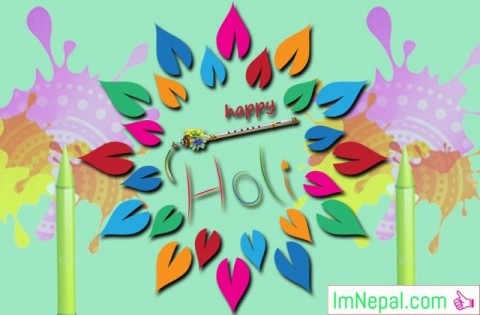 Happy Holi Festival Hindu Greetings Cards Wishing Images Picture Messages HD Wallpapers Quotes PHotos Pics