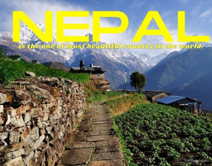 Nepal is the one of most beautiful country in the world.