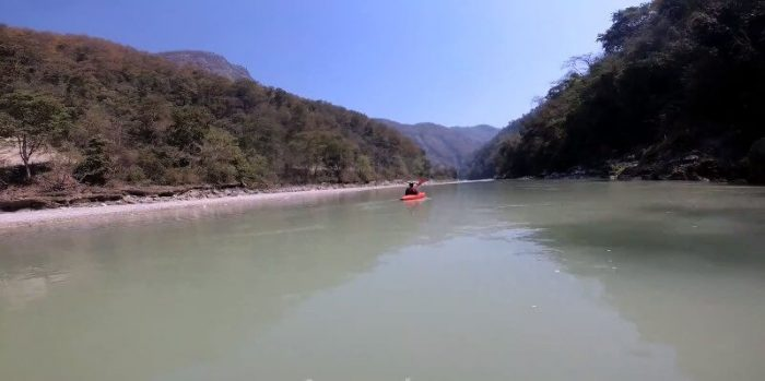 Rafting in Seti Khola, Nepal