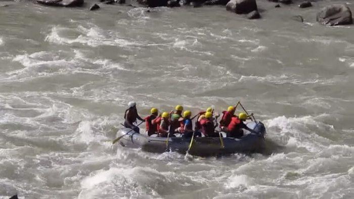 Rafting in Sun Koshi River Nepal