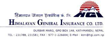 Himalayan General Insurance Company Limited Nepal